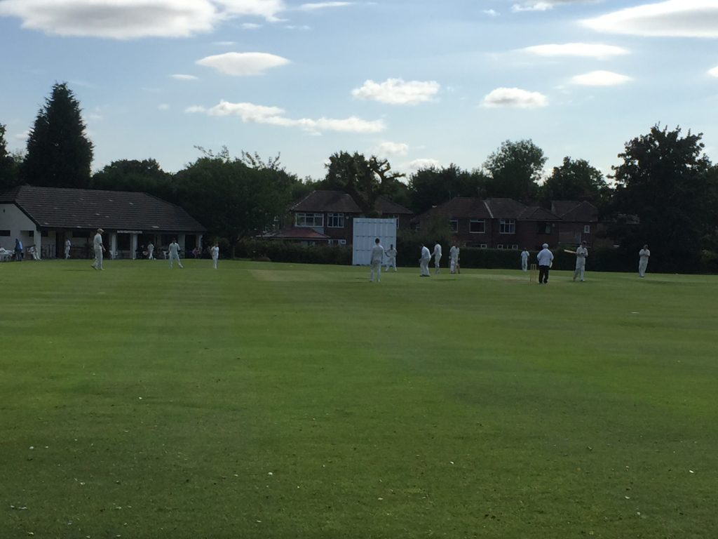 Hazel Grove CC 2nd XI vs Stalybridge St. Paul's CC 2nd XI - 17th Sept 2016